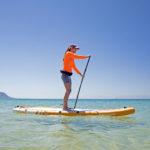 thurso surf waterwalker 120 2021 tangerine woman stand up paddling