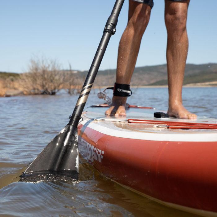 thurso surf waterwalker 126 2021 crimson stand up paddling