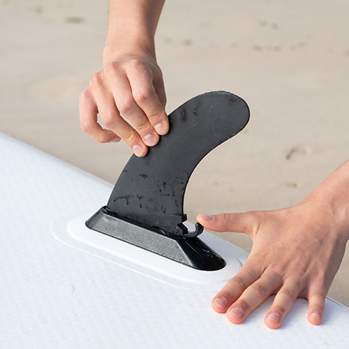 thurso surf sup quick lock fin installation