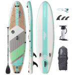 stand up paddle board waterwalker 120 turquoise package thurso surf