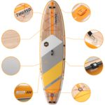 stand up paddle board waterwalker 120 tangerine thurso surf features