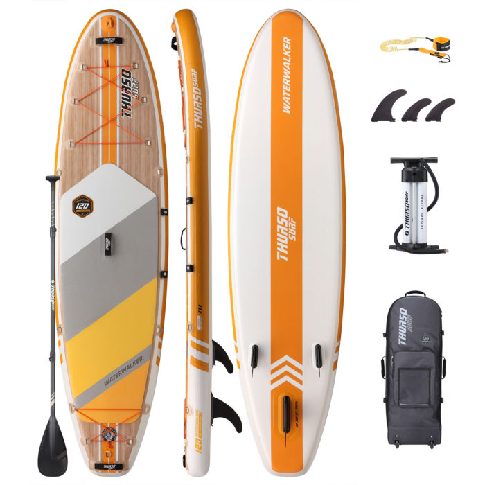 stand up paddle board waterwalker 120 thurso surf package