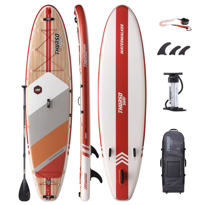 stand up paddle board waterwalker 132 crimson package thurso surf