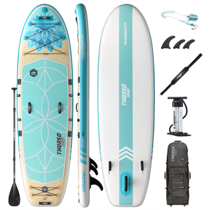 stand up paddle board tranquility 128 package thurso surf