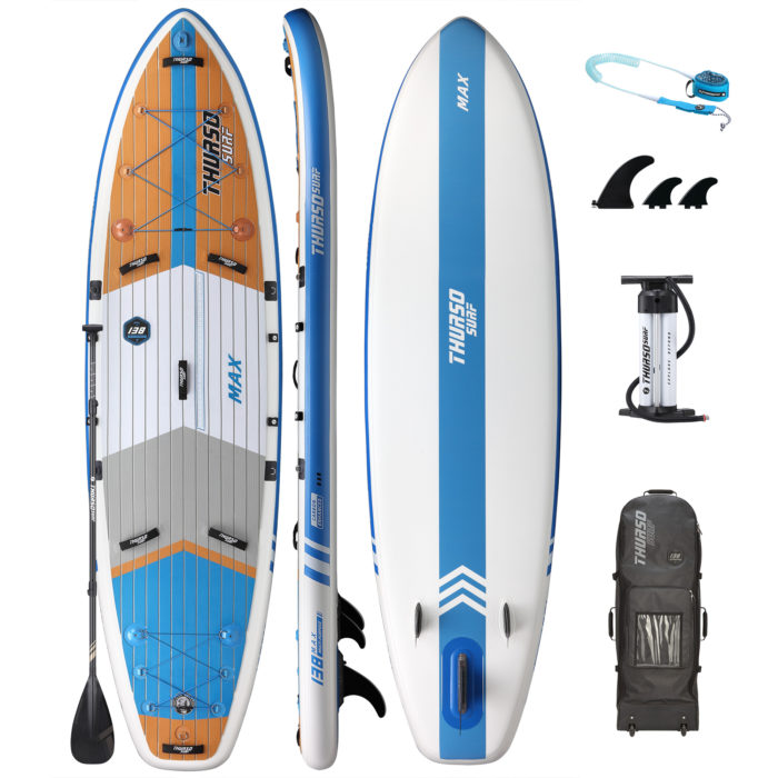 stand up paddle board max 138 package thurso surf