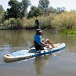 stand up paddle board thurso surf max kayak seat river