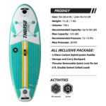 thurso surf prodigy 90 stand up paddle board parameters emerald