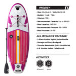 thurso surf prodigy 90 stand up paddle board parameters Magenta