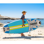 thurso surf prodigy azure junior paddle board carrying