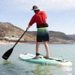 thurso surf prodigy sup emerald paddling ocean