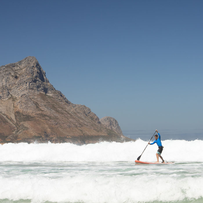thurso surf waterwalker 120 2021 crimson man riding waves