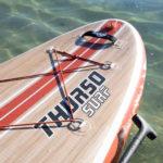 thurso surf waterwalker 126 2021 crimson wood grain