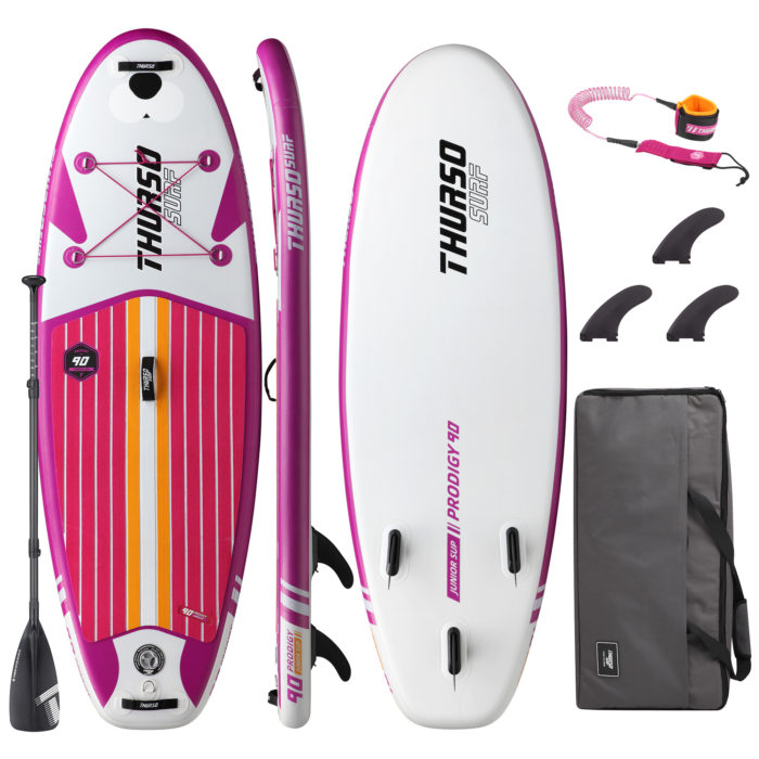 thurso surf prodigy magenta junior sup package