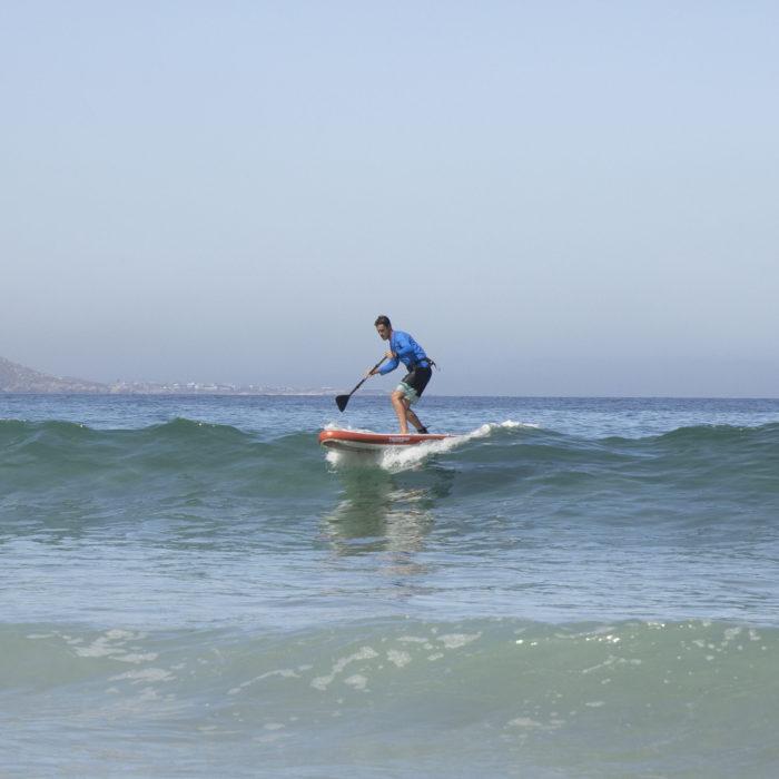thurso surf waterwalker 120 2021 crimson man surfing