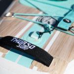 thurso surf waterwalker 120 2021 turquoise tail handle