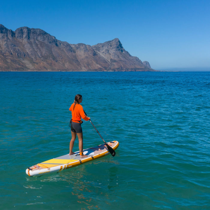thurso surf waterwalker 120 2021 tangerine woman stand up paddling 2