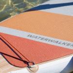thurso surf waterwalker 126 2021 crimson traction pad