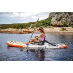 waterwalker 120 2019 paddling kayaking dog